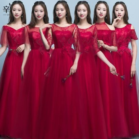Gaun Bridesmait bride m 031 1 bride_m_031_red_gown_merah